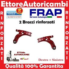 2 BRACCI OSCILLANTI INFERIORI RINFORZATI FRAP AUDI A3 - GOLF IV 4 - NEW BEETLE