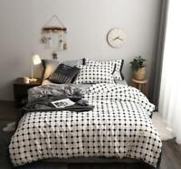 3D White Graphic Grid Dots KEP2721 Bed Pillowcases Quilt Duvet Cover Kay