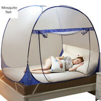 Single-door Mosquito Net For Adults Yurt Bed Canopy Mesh Students Bunk Bed