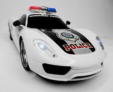 Polizeiauto Ferngesteuert Police Modellauto RC 1:16 Kinderspielzeug inkl. Batt.