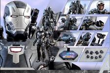Hottoys Avengers Infinity War-War Machine Mark 4