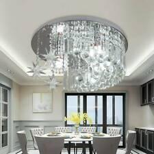 K9 Crystal Moon Star Light LED Modern Ceiling Lamp Chandelier New