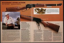1983 MOSSBERG Roy Rogers Signature Edition 479PCA Rifle 2-pg AD