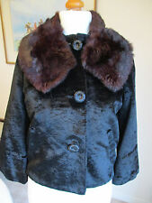 Outstanding 1950s vintage jacket with fur collar