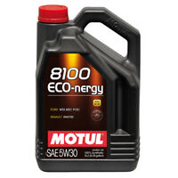 MOTUL 8100 ECO-NERGY 5W30 SYNTHETIC ENGINE OIL 5 LITRES 5L