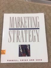 USED (VG ) Marketing Strategy by O. C. Ferrell- PAPERBACK - TAKE A LOOK NOW B8