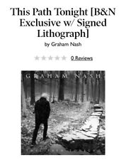 This Path Tonight by Graham Nash LP Vinyl Includes signed Lithograph autograph