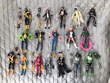 Marvel legends X-men Polaris Storm Kitty Pryde & More 17 Total W Ac??c