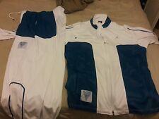 Air Jordan FLIGHT Pants Mens XXL blue/white set 2 pieces