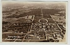 Vintage Varney Airscape of Stanford University Real Photo RPPC Sepia Postcard