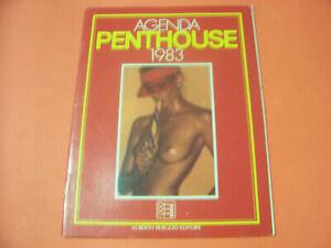 PENTHOUSE AGENDA  DEL 1983 CON SERENA GRANDI IN OTTIMO STATO