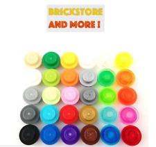 Lego - Round Plate Plaque Ronde 1x1 4073 - Choose color.