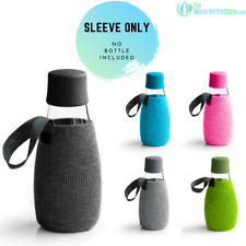 ReTap Sleeves for Small Glass Water Bottles - new design