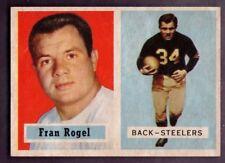 1957 Topps #27 Fran Rogel Pittsburgh Steelers EX-MT Plus / NM