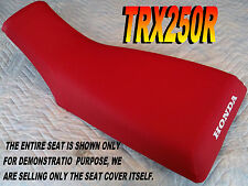 TRX250R 1986-89 Replacement seat cover Honda Fourtrax TRX 250 RED TRX250 313A