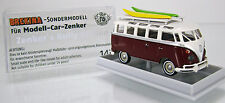 """MCZ 03-191 Volkswagen VW Samba """" Zenker´s Bully Edition """" purpurrot US-Version"""