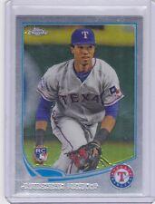 Texas Rangers 2013 Topps Chrome Baseball Team Set Profar RC (9 Cards)