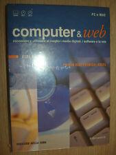 N°3 CD ROM+ BOOK COMPUTER & WEB EXCEL CORSO ORDENADOR PC