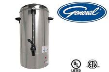 GENERAL COMMERCIAL COFFEE PERCOLATOR 40 CUPS 6 QT MODEL GCP40