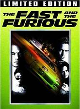 The Fast and the Furious (DVD, 2008, 2-Disc Set, Limited Edition)
