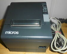 Micros Epson Tm-T88Iv Pos Thermal Receipt Printer - Usb Interface - Tested
