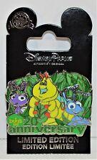 Disney A Bugs Life 20th Anniversary Flik & Atta & Heimlich 3-D Pin LE 2000 NEW