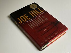 Horns : A Novel by Joe Hill (2010, Hardcover) Signed First Edition.