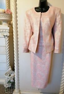 RIBBONS & BOWS DESIGNER MOTHER OF THE BRIDE OUTFIT SIZE 18 NEW WITH TAGS