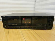 JVC TD-W503 Stereo Double Dual Cassette Deck Recorder Dolby HX Pro