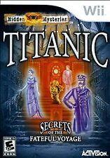WII TITANIC Hidden Mysteries: Secrets of the Fateful Voyage (Wii)- Original Case