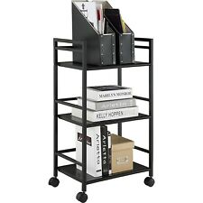 3-Tier Rolling Storage Organizer Trolley Cart Mobile Shelf Kitchen Tower Utility