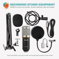 Studio Recording Microphone Set Adjustable Mic Suspension Scissor Arm Shock