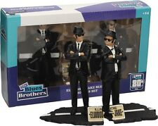 THE BLUES BROTHERS Box 2 Figure 17cm ELWOOD JAKE Figures ORIGINALE Sd Toys NEW