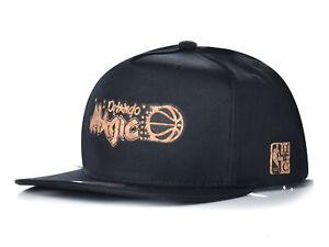 Mitchell & Ness NBA ORLANDO MAGIC SCHWARZ BLACK BASE CAP MÜTZE