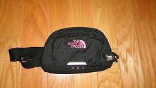 The North Face Roo Sling Bag Fanny Pack Black Pink Nylon