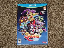 Brand New! Shantae Half-Genie Hero Risky Beats Nintendo Wii U w/ Bonus CD SEALED