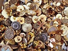 BARGAIN ~ 500g BAG ASSORTED MIXED RETRO FANCY BUTTONS (apprx 500 -750 buttons)