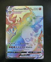 Rainbow Charizard VMAX 78/75 Secret Rare - Repacked - READ!!!