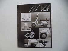 advertising Pubblicità 1983 VIGANO' e VESPA PX 125 E