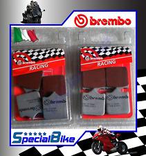 AHL-Kit Motocicletta Pastiglie freno per Ducati 999 S//R//Fila//Xerox//Monoposto//Biposto 2003-2006 Rame sinterizzato