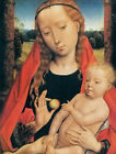 Oil painting hans memling - The Virgin Mary Madonna with child baby christ jesus