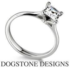 Princess White Gold 18 Carat VS1 Fine Diamond Rings