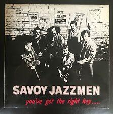 Savoy Jazzmen - You've Got The Right Key..... UK 1979 LP Burlington Recs