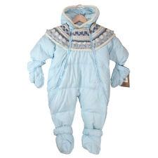 NWT UGG Baby Blue Down & Wool Pram Puffer Bunting Warm Winter Jacket 24 Mo. $175