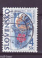 Slowakei Nr.  366  gest.  Finale Frauen Basketball in Ruzomberok