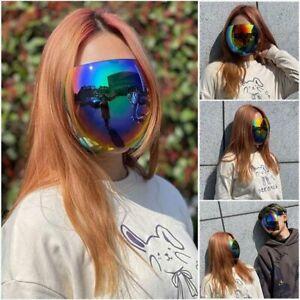Men Women PC Protective Face shield Sunglass Spherical Lens Lightweight Cycling