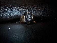 Krieger- Gemme -Karneol- Camme- Siegel Ring Rot Gold 585