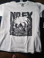 NOFX old school hardcore punk T-Shirt. Adult small Only mystic records