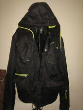 A LOVELY MENS WINTER AIR WALK HOODED COAT SIZE MEDIUM PIT-PIT APPROX 23 INCHES