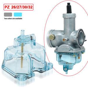 Transparent Carburetor Bottom Carb Plastic Float Bowl Shell For PZ 32 30 27 26